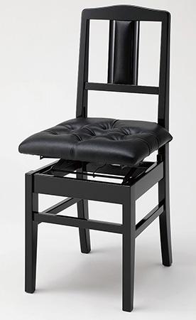 ピアノ椅子 (背もたれ付タイプ) No.7S