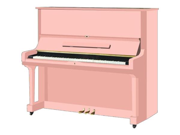 アップライトピアノ カラーカスタム