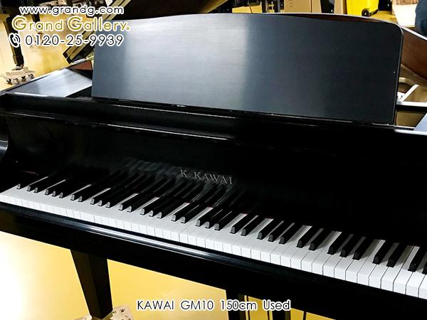 中古ピアノ KAWAI(カワイ)GM10 ※艶消し塗装 艶消し仕様のスタイリッシュモデル