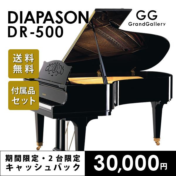 新品グランドピアノ DIAPASON(ディアパソン)DR-500