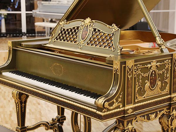 史上最高傑作 スタインウェイ&サンズ(STEINWAY&SONS)Model.A Louis XIV(ルイ14世)ピアノの域を超えた唯一無二の芸術作品